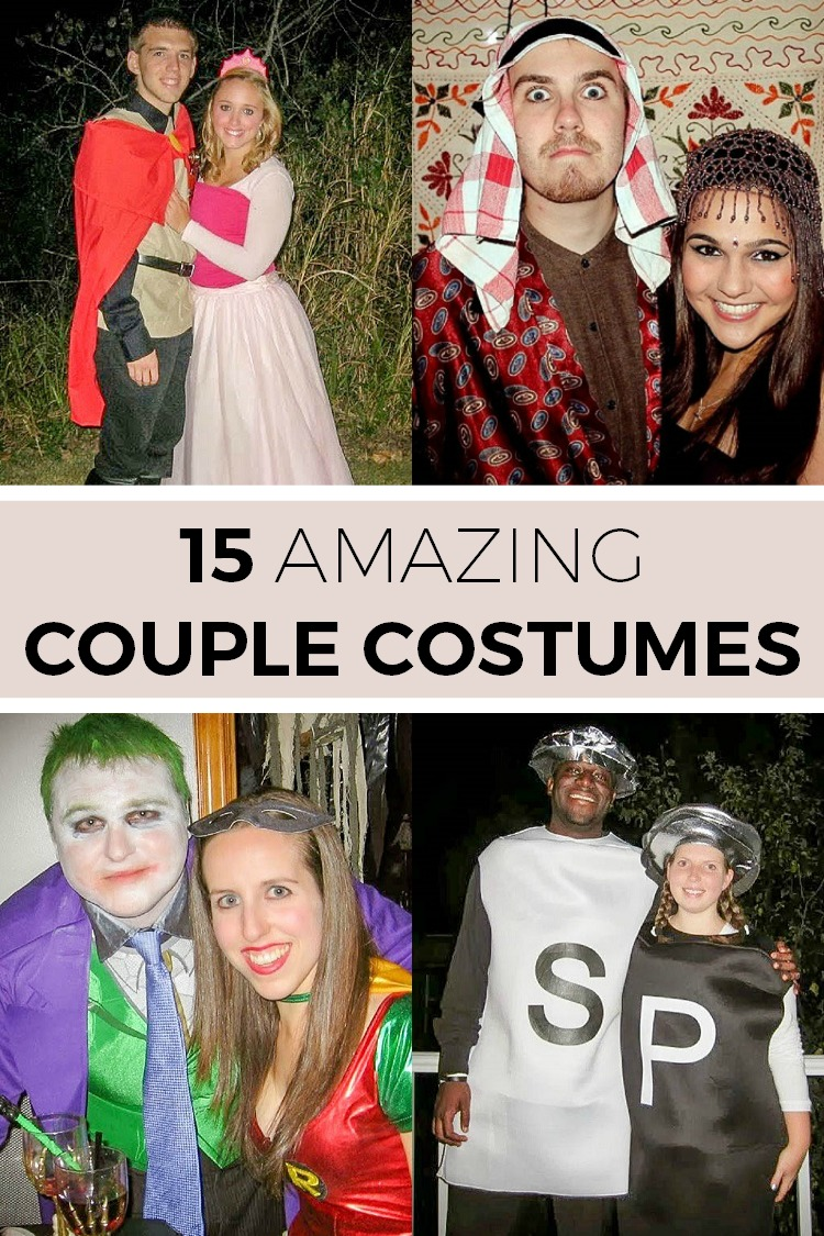 sc 1 st  Simple Moments Stick & 15 Awesome Couple Costume Ideas - Simple Moments Stick