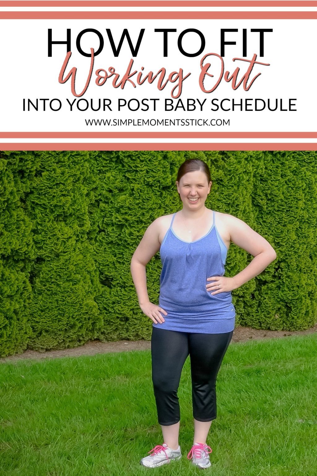 Are you wondering how to find time to work out with a baby hanging around? This post has the solutions!