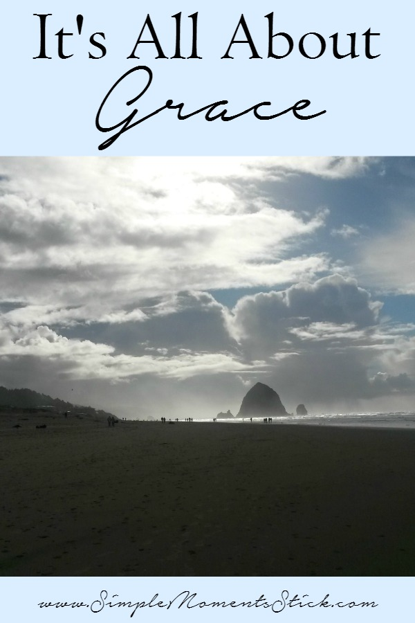 Grace.  It's what Christianity is all about!  Whether you're Christian or not, you should check this post out and understand what it mean to be given Grace.
