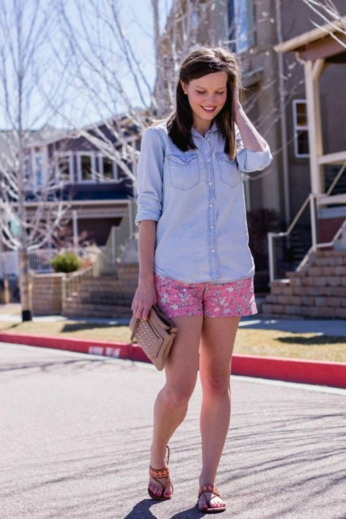 How to attain simplicity in your spring wardrobe - Oak + Oats - Click through to check out what she and other bloggers have to say about the topic!