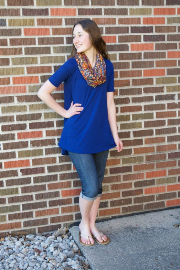 How to attain simplicity in your spring wardrobe - Laura Ann's Home - Click through to check out what she and other bloggers have to say about the topic!