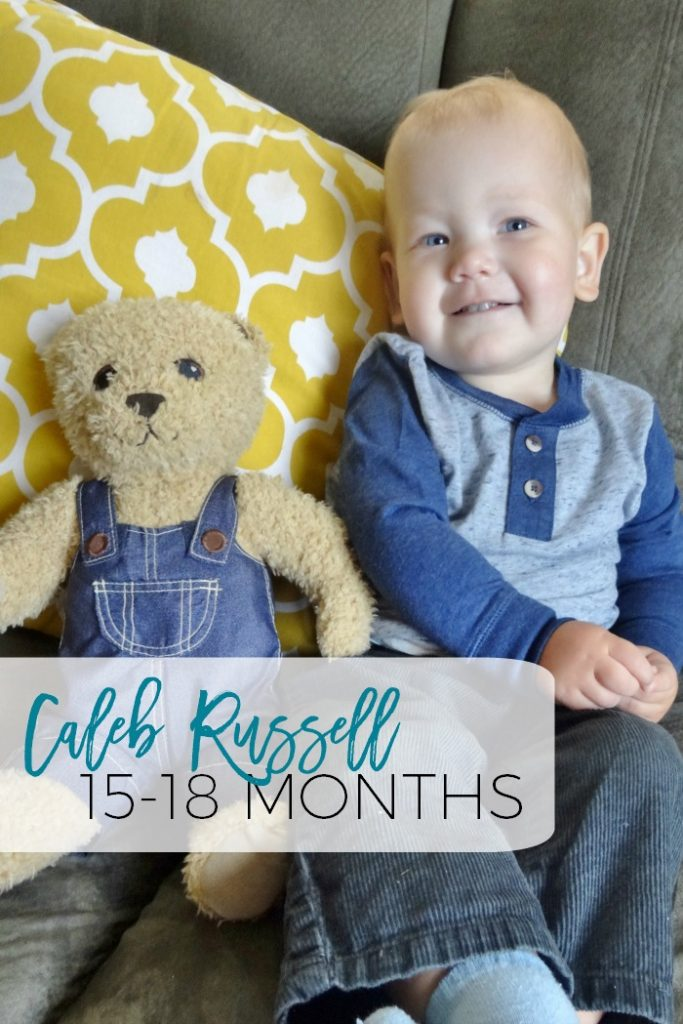 What's going on with Caleb?  Hear all about his 15-18th months!  There's a crazy medical story involved!