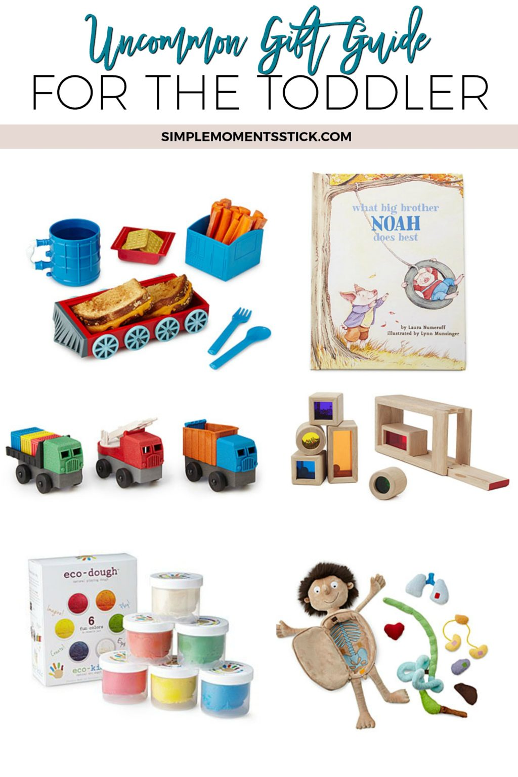 Check out this fantastic gift guide for your favorite toddler!