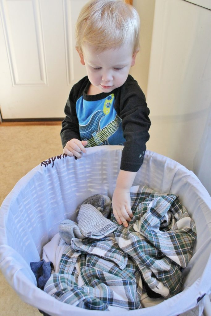Toddlers can and should be doing chores!  Click through to find out what I recommend doing with a newly two year old and why I feel it's so important to be encouraging them to do chores at a young age.