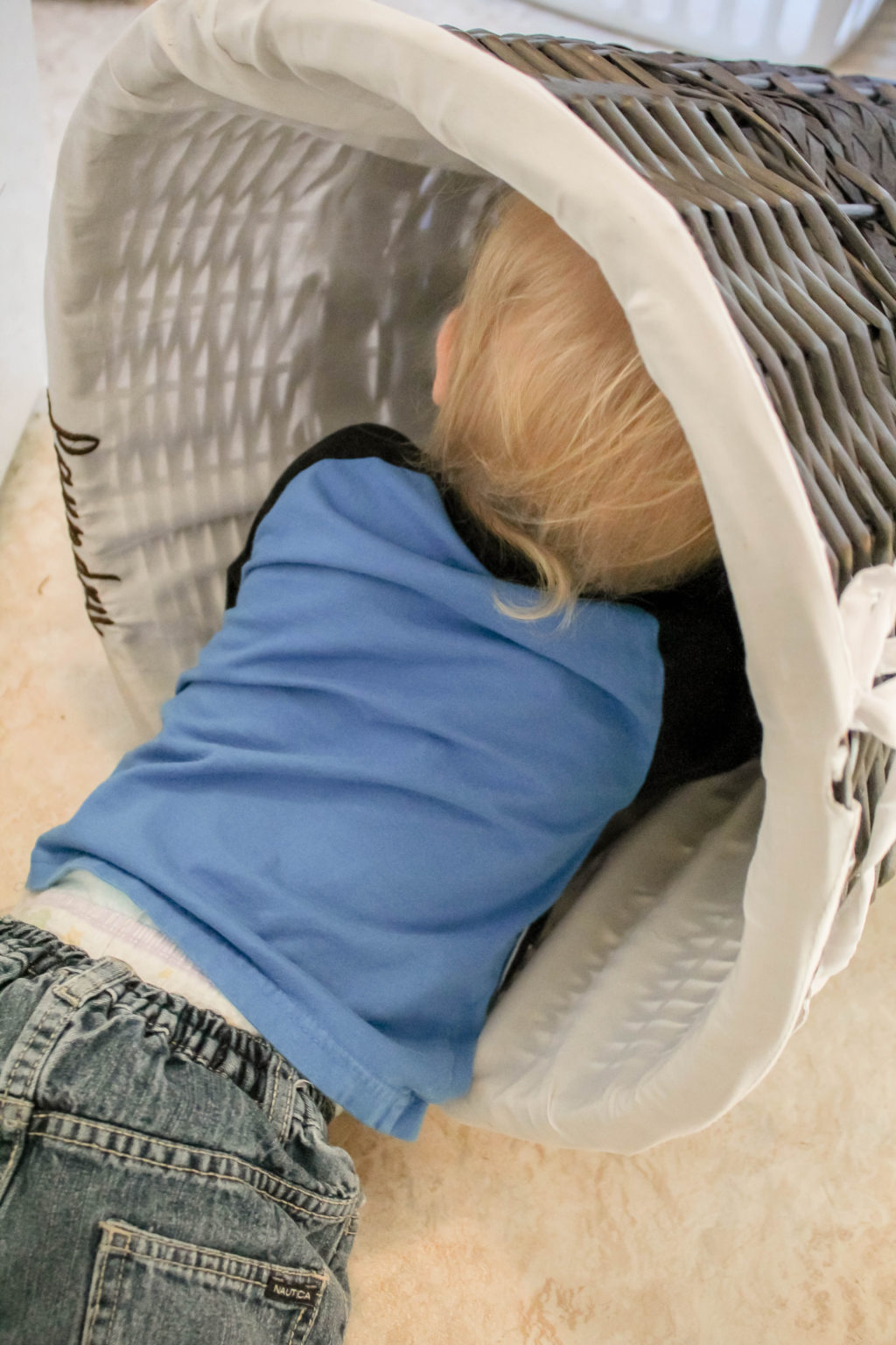 """You may be asking, """"What chores can a toddler do?""""  If so, this post is for you!"""