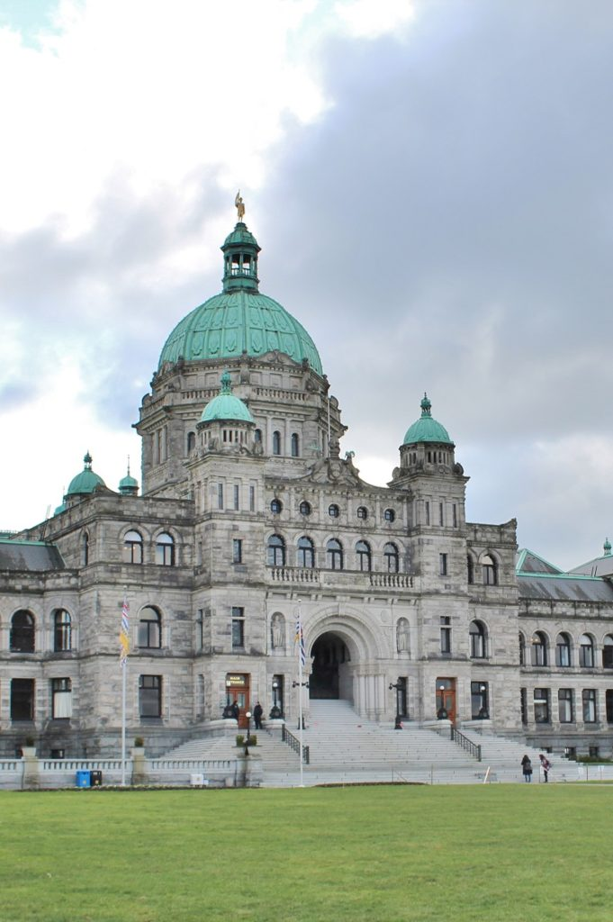 If you're a history buff visiting Victoria, BC you HAVE to tour the Parliament Building!