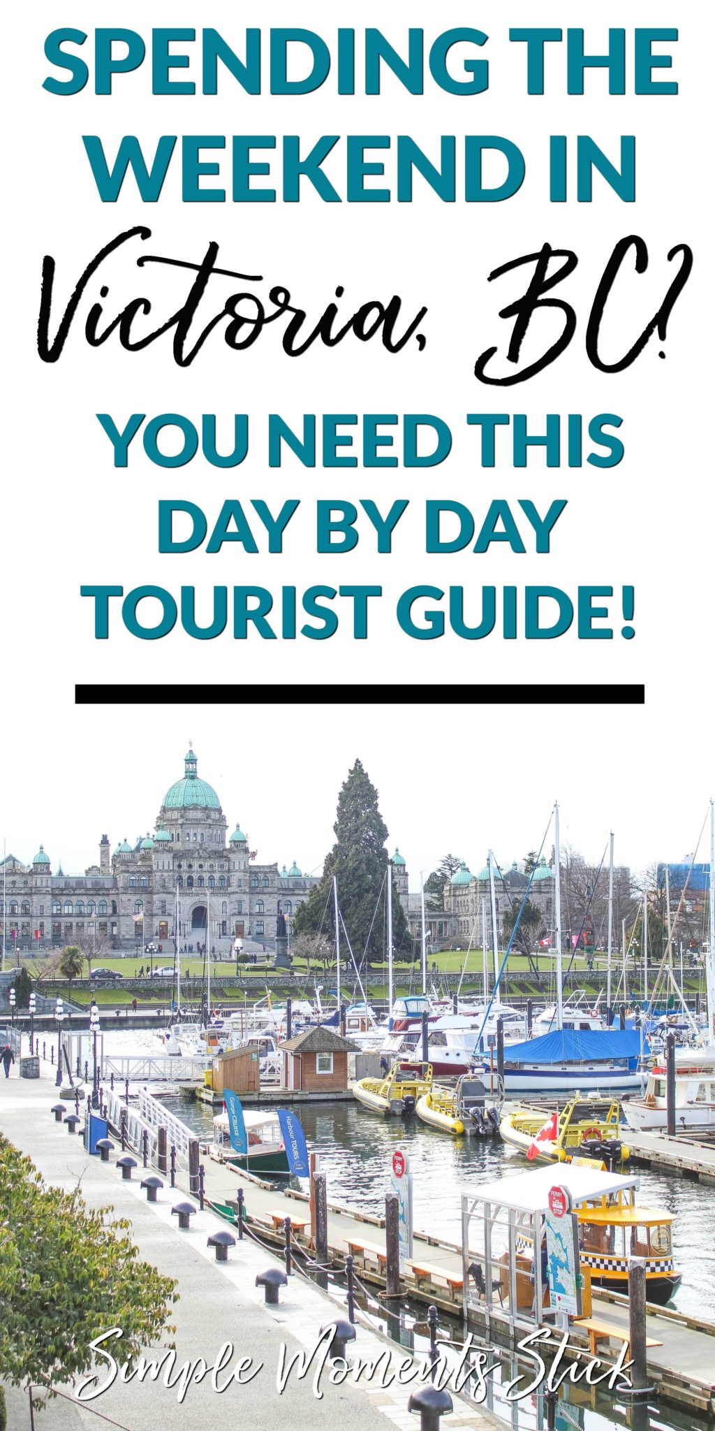 Wondering what to do during a weekend trip to Victoria, British Columbia. This Victoria, BC travel guide is chock full of information to fill up your weekend getaway!