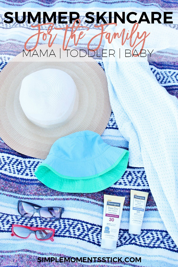 Summertime Skincare for the Family - Simple Moments Stick