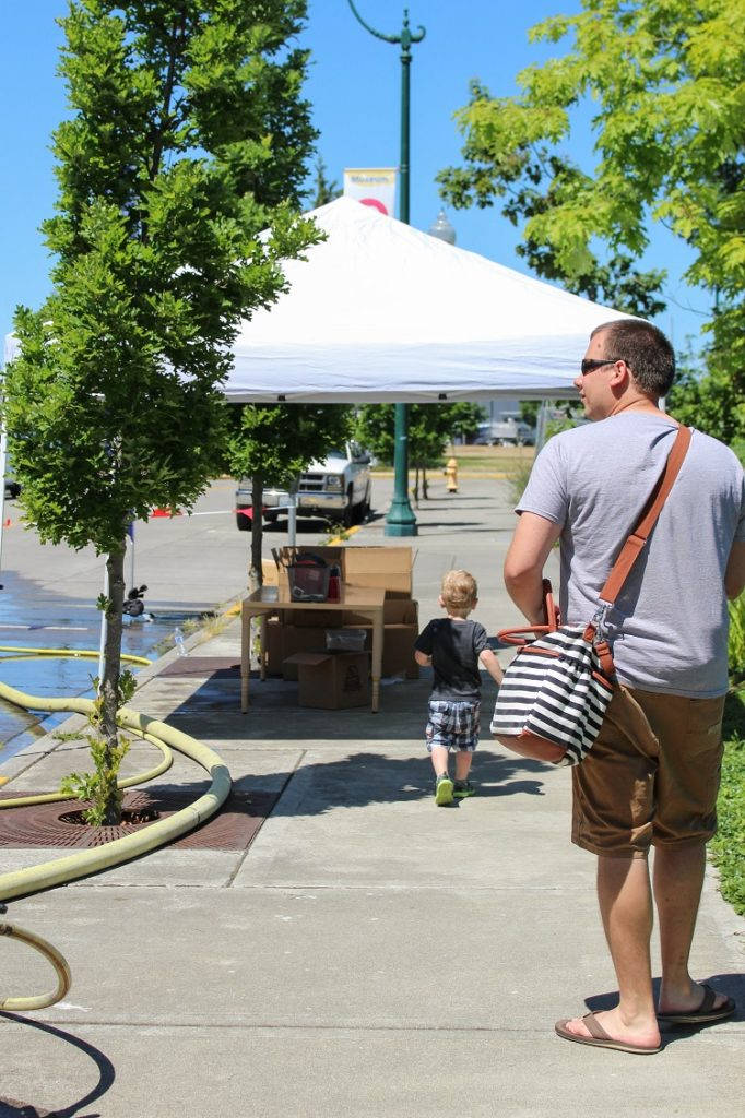 Such a fun community event in Olympia, Washington!