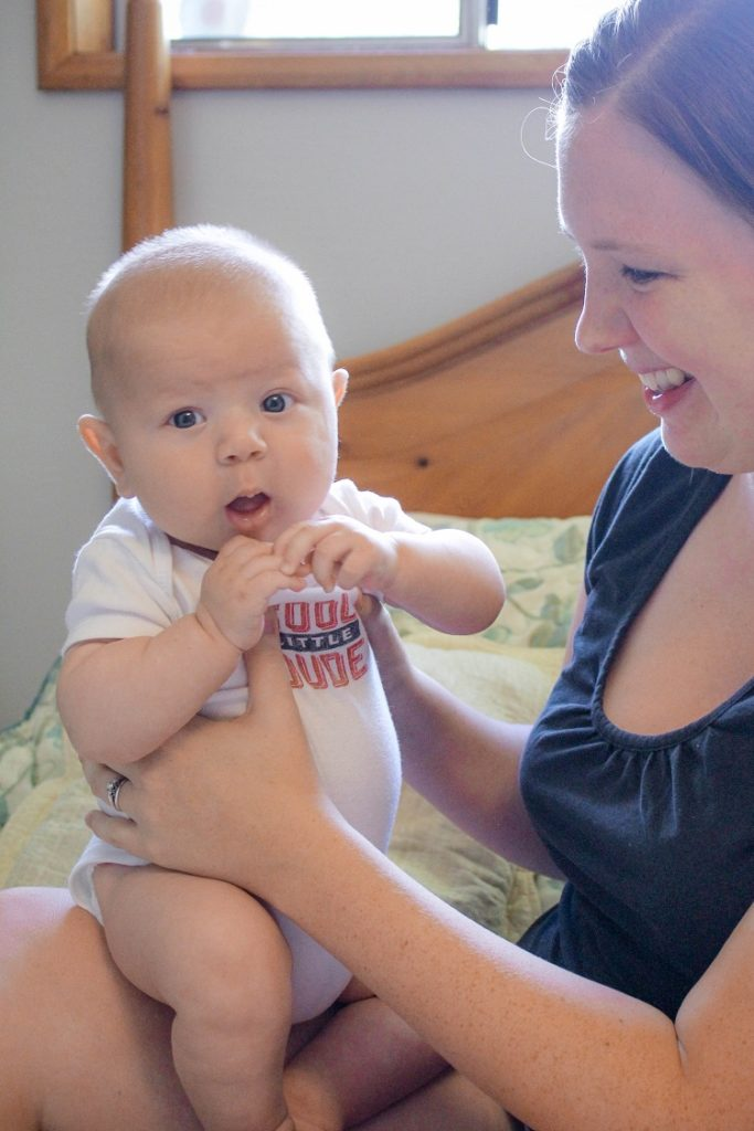 Ever wonder what postpartum recovery is like?  Here's one mama's journey!