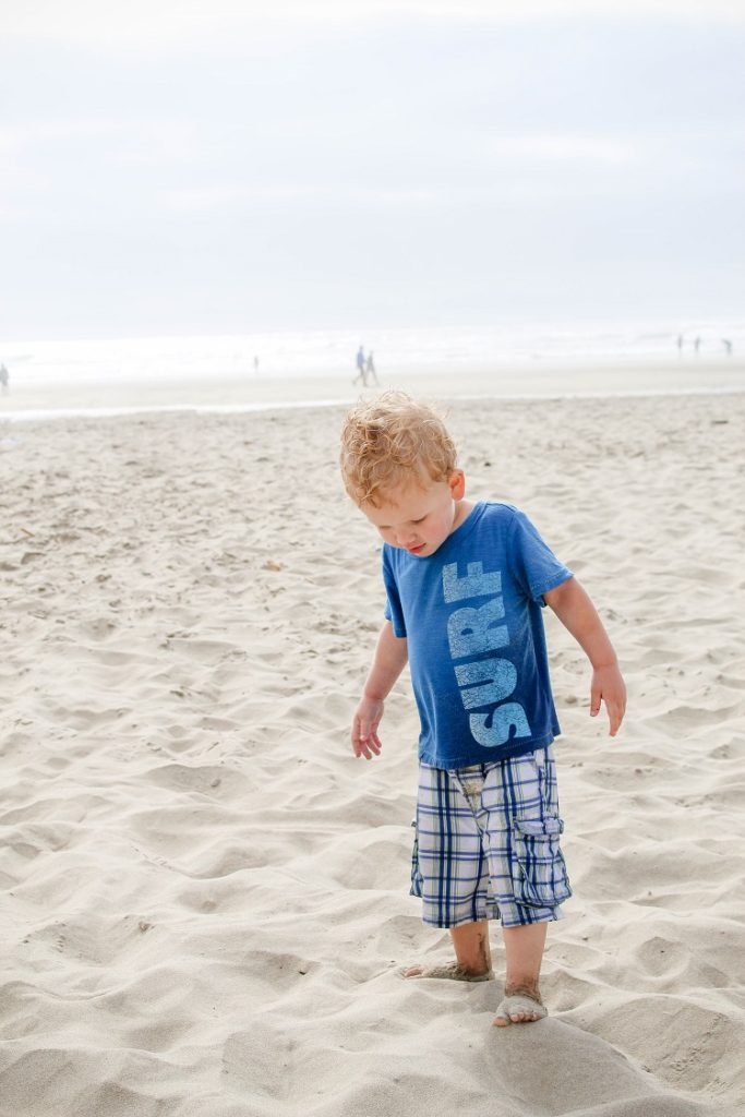 Going to Cannon Beach, Oregon with a toddler and a baby is not only possible, but can actually be fun!