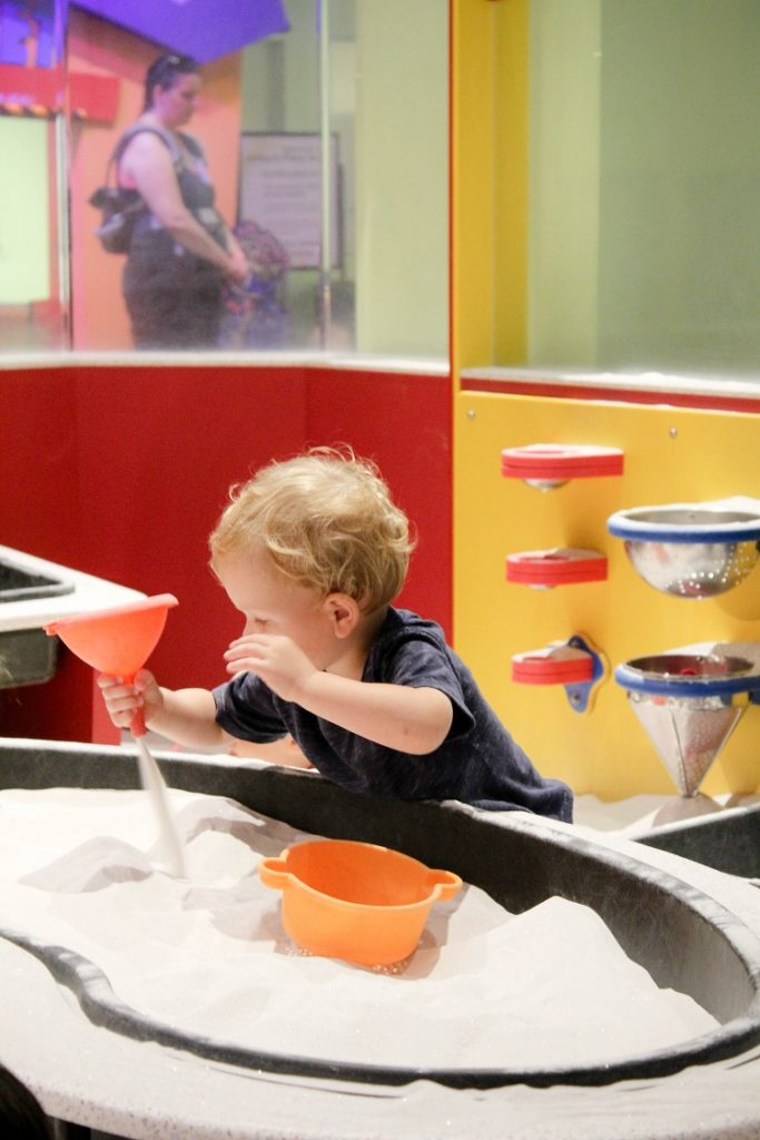 Thinking about going to OMSI with a toddler?  Check out this post to see if it's doable!