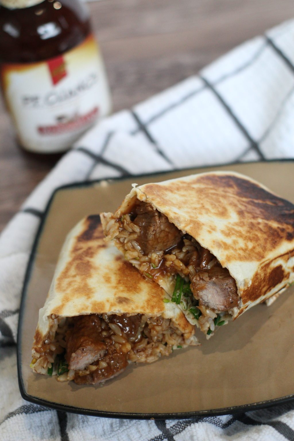 You HAVE to try this Mongolian Beef Burrito!