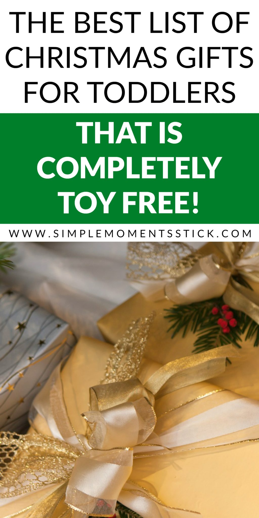 Great gift ideas for toddlers who have everything