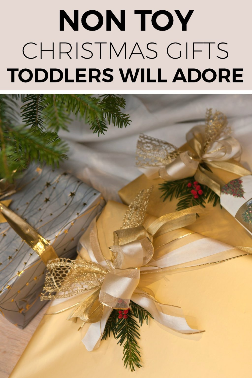 the greatest non toy christmas present gift guide for toddlers