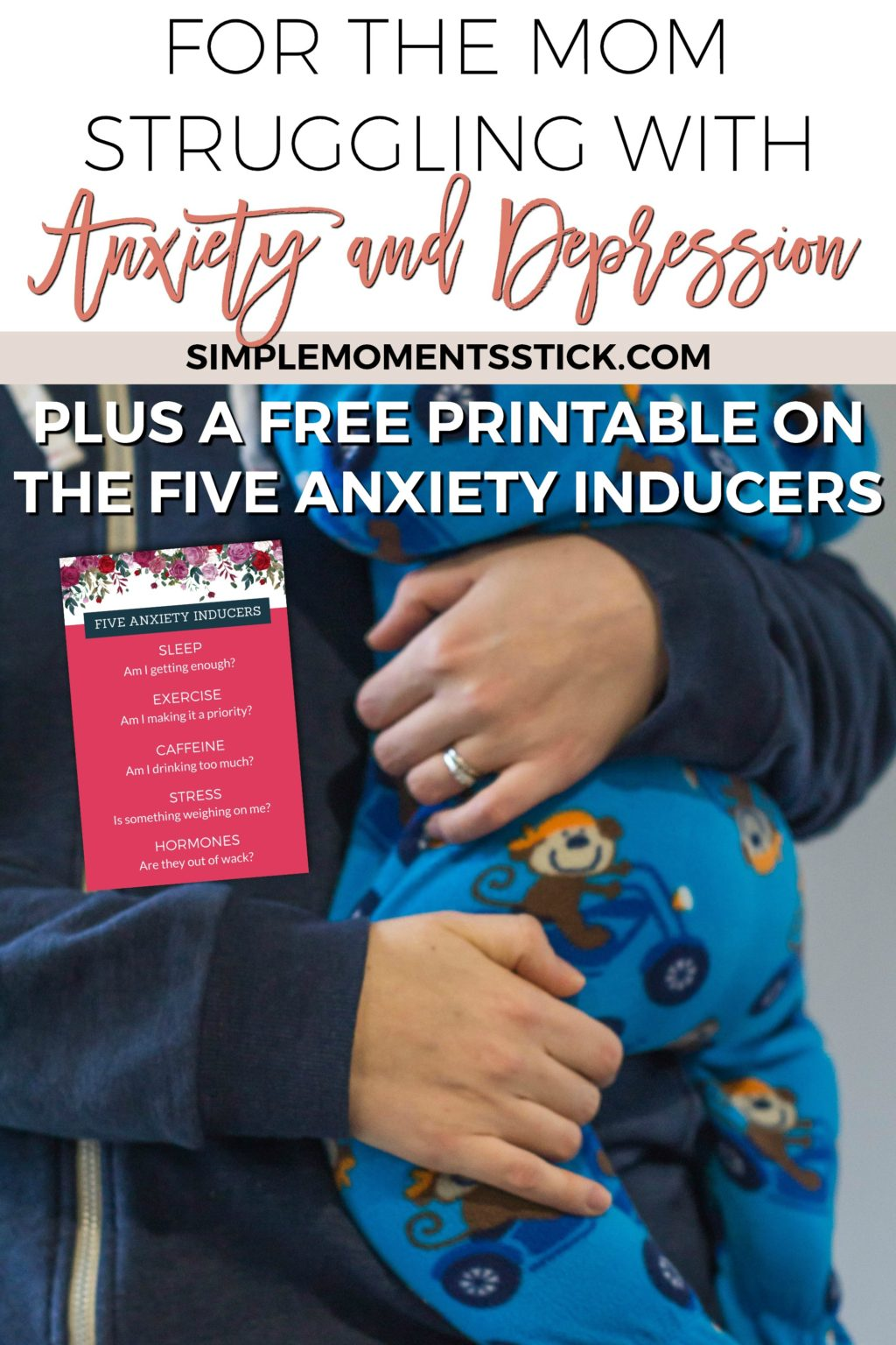 Three important tips for all who are struggling with mom anxiety and depression.