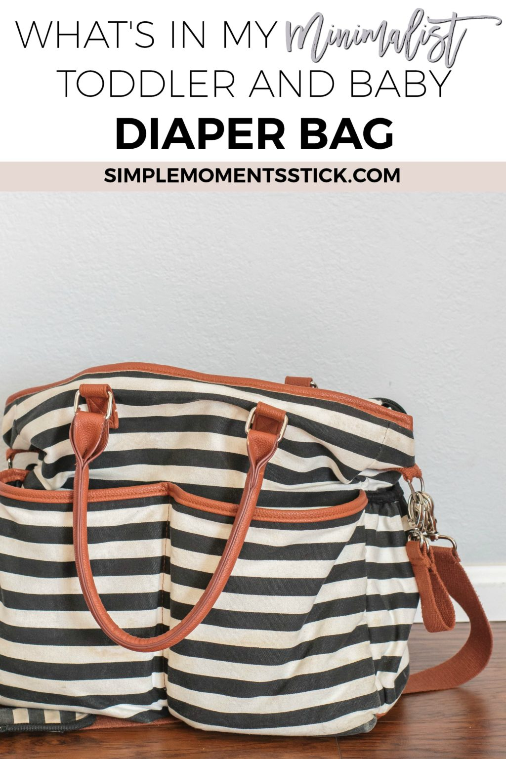 Minimalist diaper bay for toddler AND baby