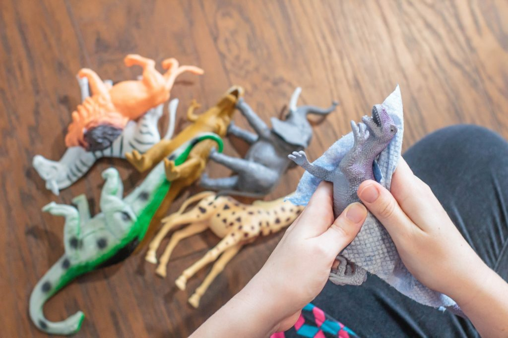 The full on guide for how to clean kid's toys. You're gonna want to read it!