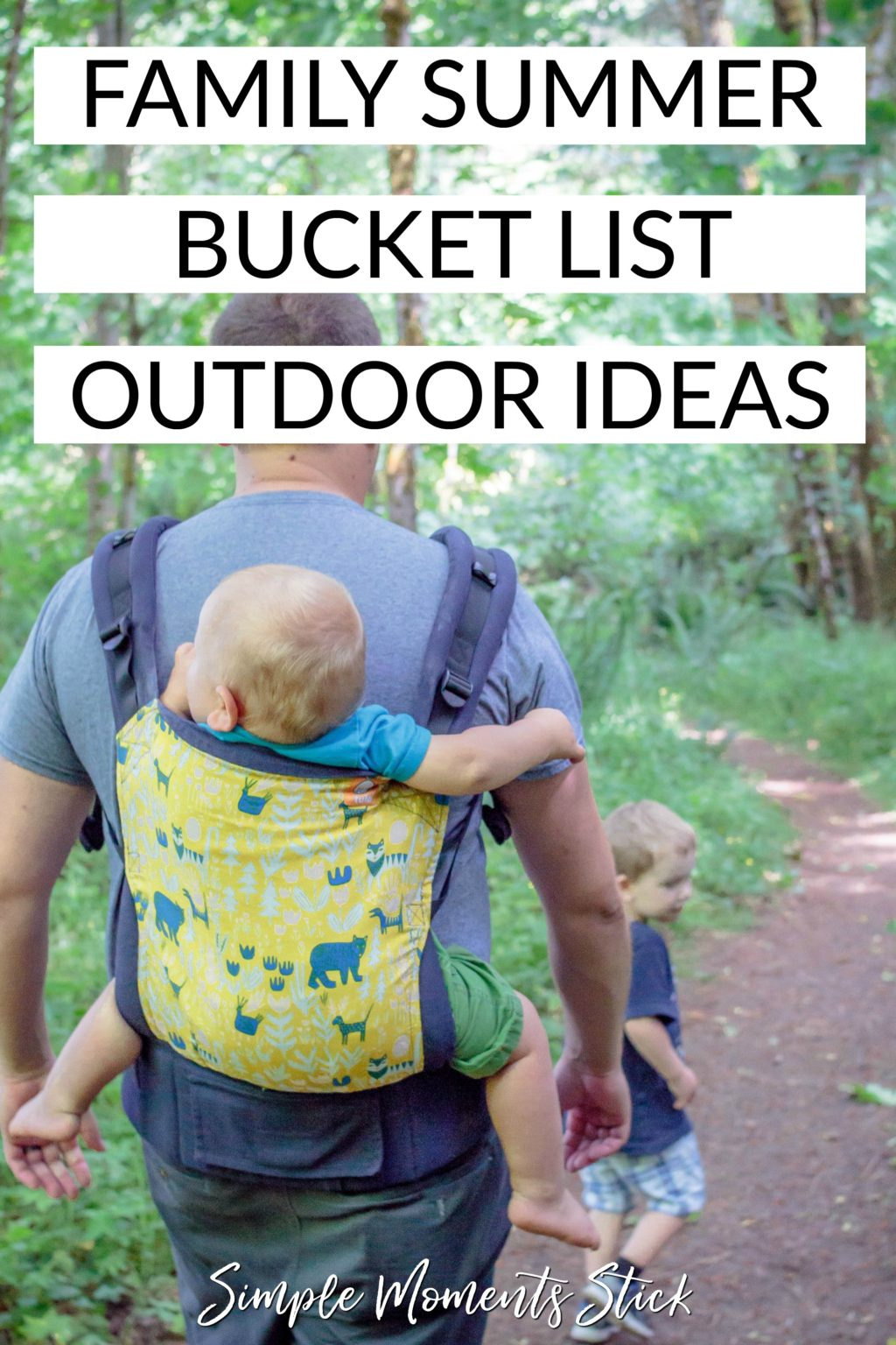 #ad Your family should be getting outside this summer! I have the perfect outdoor summer bucket list just for you!