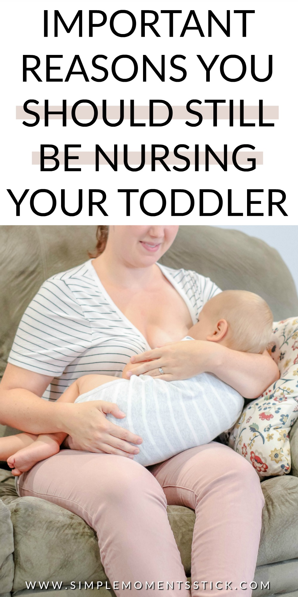 #ad There are so many breastfeeding toddler benefits! Find them all here!