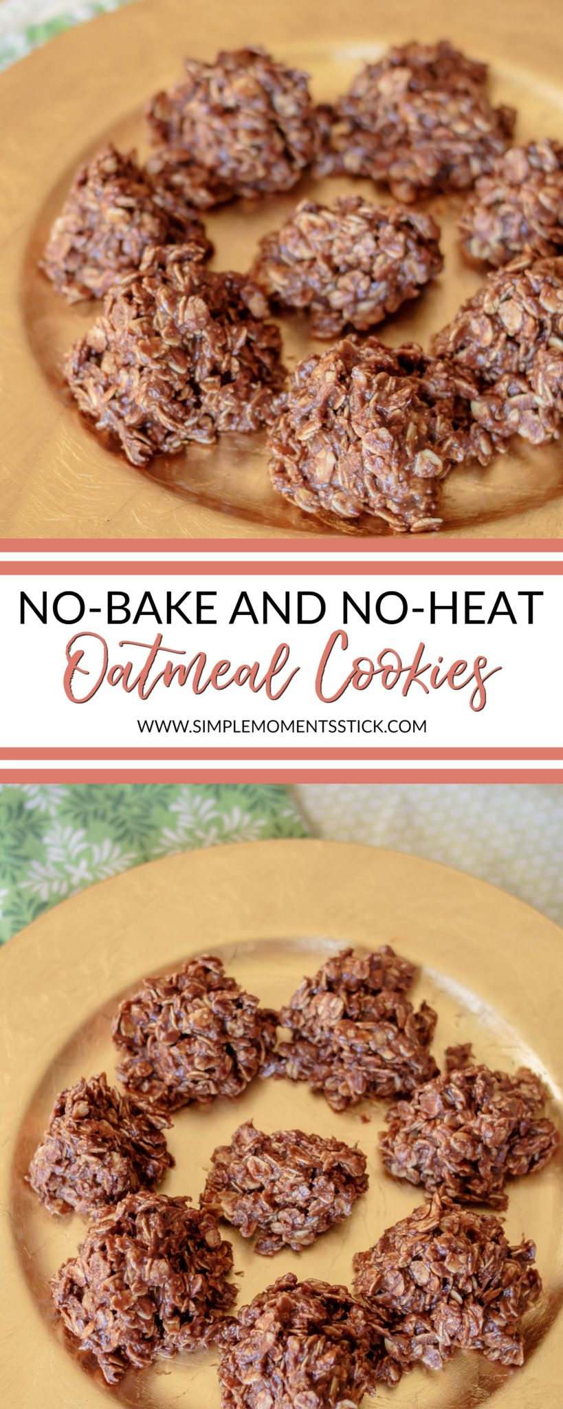 No-Bake and No-Heat Cookies #nobake #noheat #cookies #recipe #nobakecookies #cookierecipe