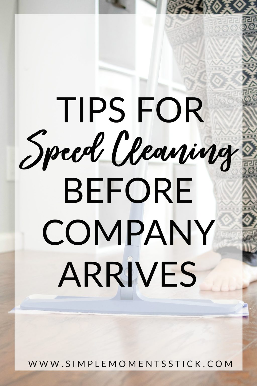 #ad Speed cleaning before company arrives. Plus awesome speed cleaning products