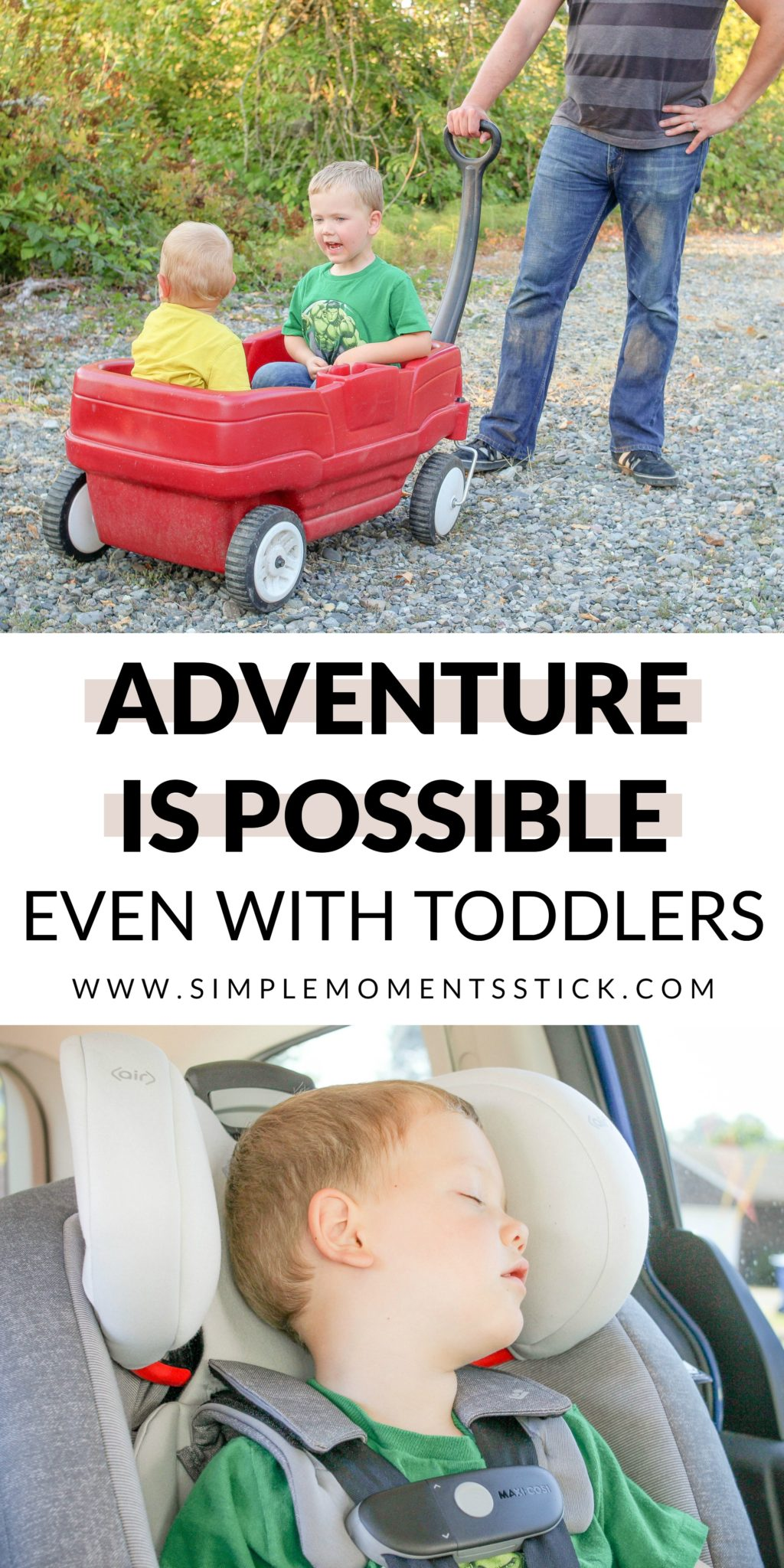 Wonderful adventures with toddlers!