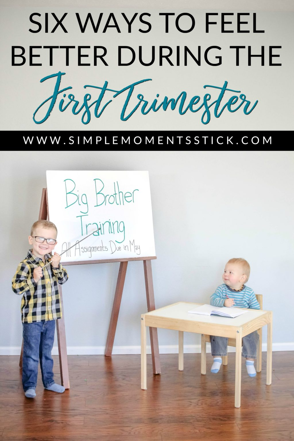Ways to feel better during the first trimester
