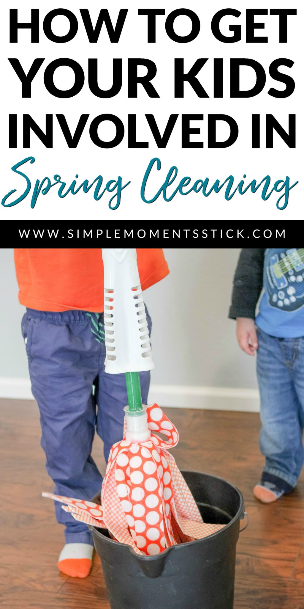 Wondering how to get your kids involved in spring cleaning? This post is for you!