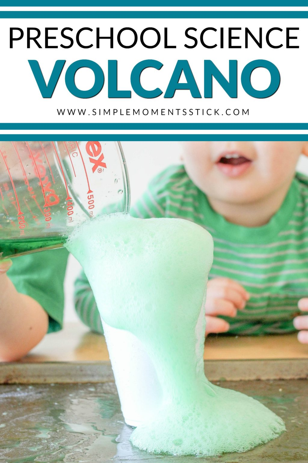 Try out this fantastic exploding volcano science project. It really is the perfect preschool science project!