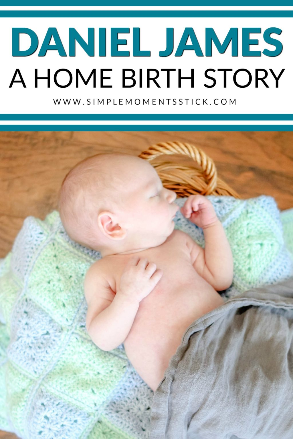 Do you wonder what it's like to have a home birth? This birth story will give you all the details for what it was like for this mama to have her baby at home.