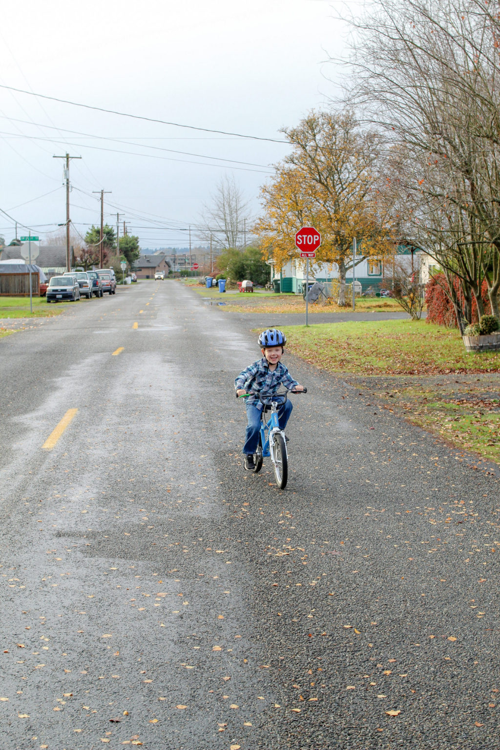How to start riding a bike. Riding a two wheeler. Learning to ride a bike