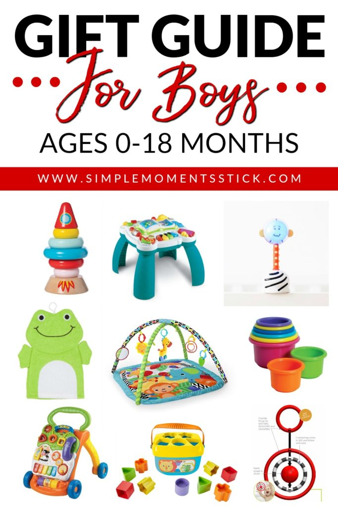 Gift guide for baby boys. Baby boy gift guides. Present ideas for baby boys. Gift ideas for baby boys.