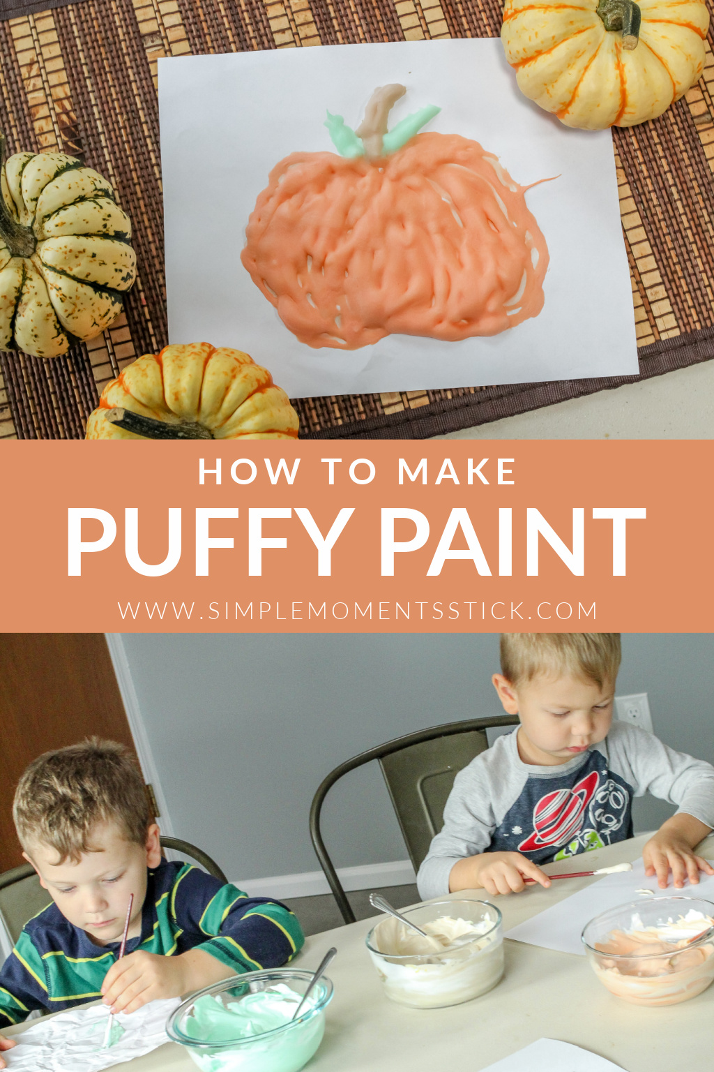 How to make puffy paint