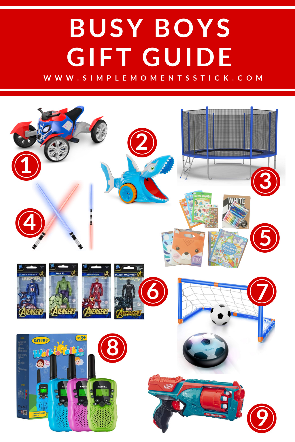 gift ideas for busy boys